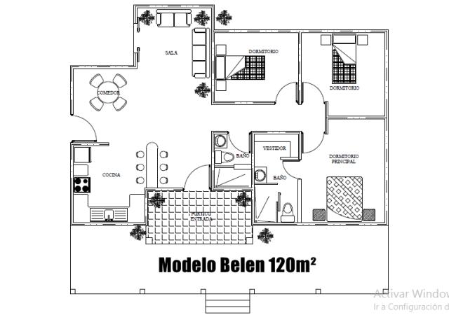 plano modelo belen