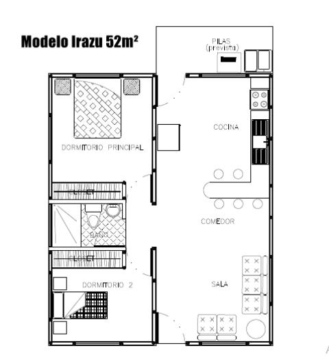 plano modelo irazu